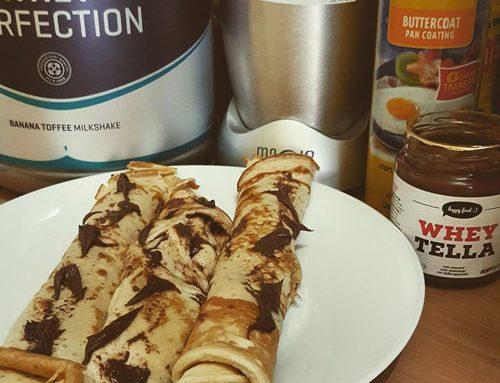 Proteinske palačinke s Wheytellom