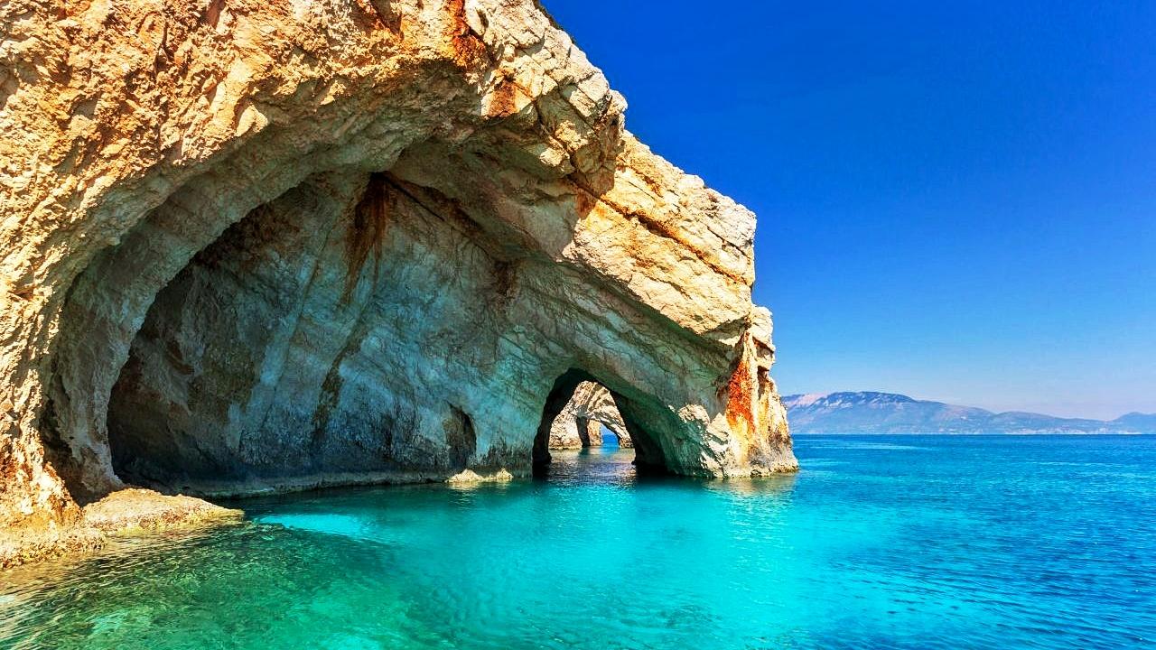 Plave pećine - Jedrenje s Vicom